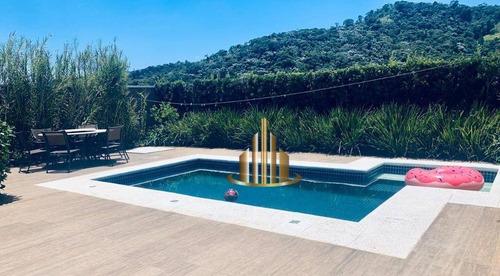Casa Com 4 Suítes À Venda, 250 M² Por R$ 1.800.000 - Valville 01 - Santana De Parnaíba/sp - Ca2530