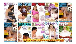Arte Psd Photoshop Revista. Quince Años-recursos Plantillas
