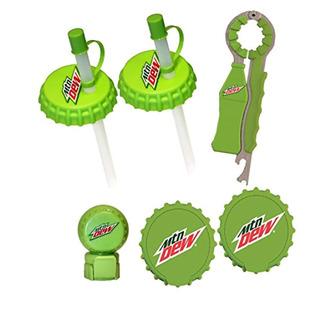 Jokari 6 Piece Mountain Dew Modern Logo Beverage Gadget Set