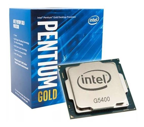 Processador Intel Pentium G5400 Box (lga 1151 / 3.7ghz / 4mb