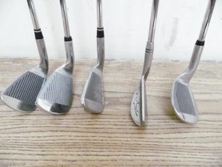 Lote 5 Palos Golf Driver Fierro Diferentes Marcas Adulto K688
