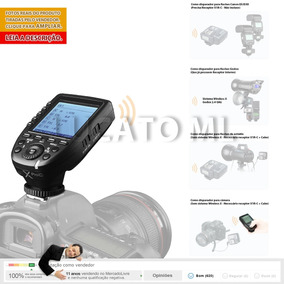 Transmissor Xproc Radio Flash Godox Canon Em12x +fretegrátis