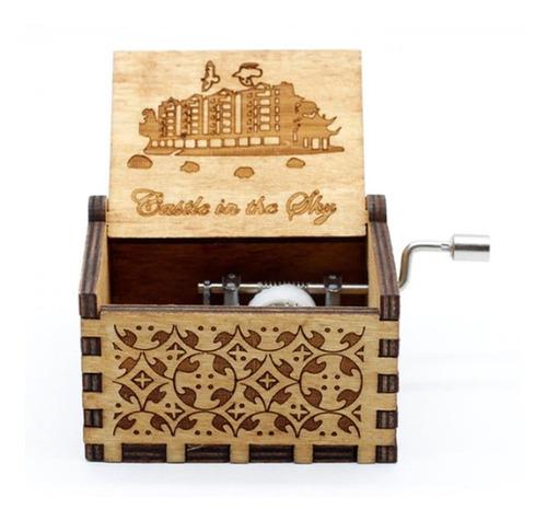 Caja Musical Castillo En El Cielo - Castle In The Sky
