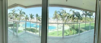 Cad Las Olas A 3. Terraza Con Jacuzzi Y Vista Al Mar. Amueblado