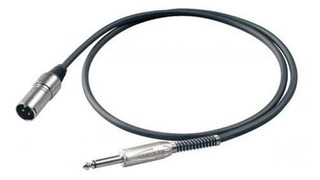Bulk220lu1 Unb.cable Canon Macho-plug 6.3mm Mono, Carcasa De