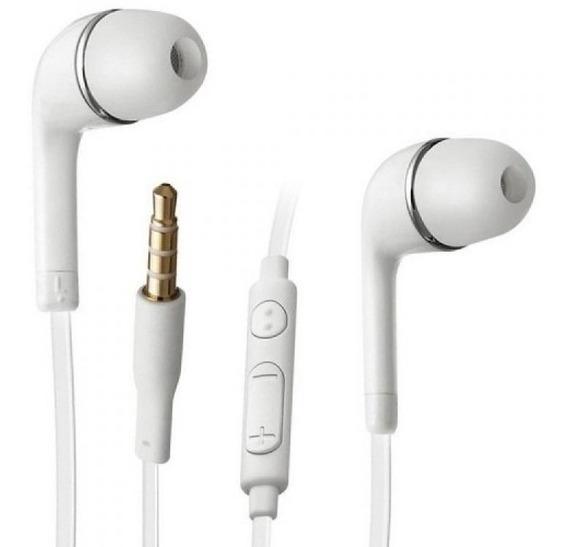 2 Fones De Ouvido Celular P2 Samsung Galaxy Microfone Volume