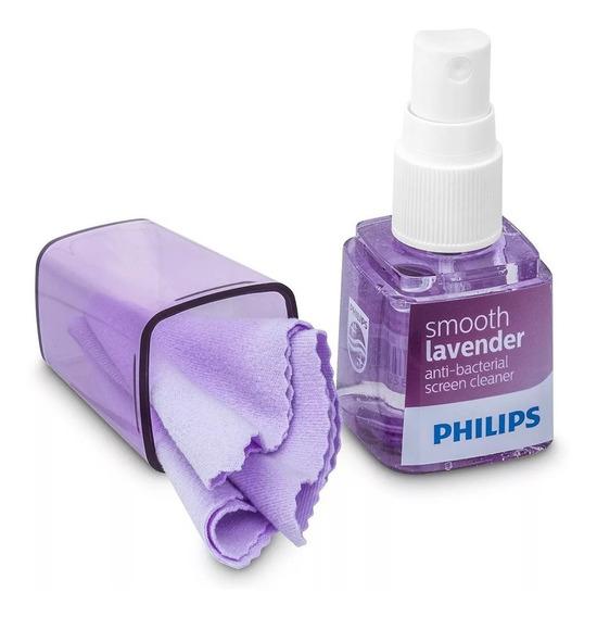Limpa Tela Philips Com Aroma Para Tv Notebook Celular Tablet