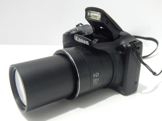 Câmera Canon S-profissional 30x Zoom Sx400 Is