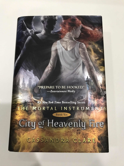 Cidade Do Fogo Celestial-cassandra Clare-livro Assinado
