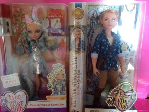 Boneca 3 Ever After Dragão Darling Allistair Charming Mattel