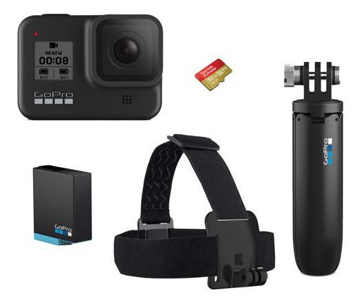 Câmera Digital Gopro Hero 8 Black 12mp 4k + Acessórios