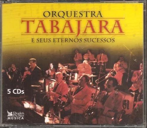 Box 5 Cds - Orquestra Tabajara E Eternos Sucessos