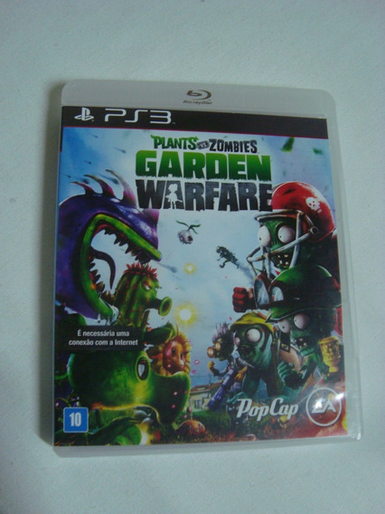Plants Vs Zombies Garden Warfare Ps3 Mídia Física Originais