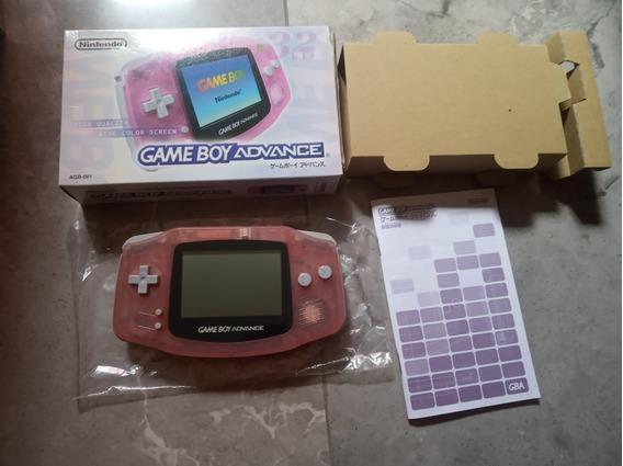 Game Boy Advance Rosa Translúcido