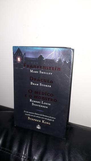 Livro - Frankenstein Drácula - O Médico E O Monstro