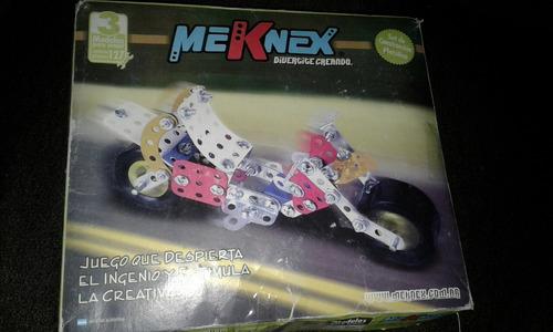 Meknex 127 Piezas 3 Modelos