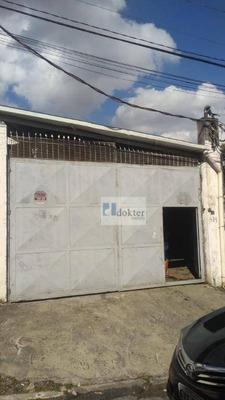 Galpão Para Alugar, 460 M² Por R$ 4.800/mês - Chácara Nossa Senhora Aparecida - São Paulo/sp - Ga0088