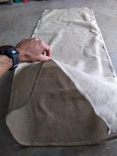 Bolsa De Juta Para Acondicionar Lã De Ovelha