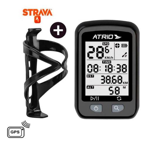 Gps Ciclismo Atrio Iron Bi091 Strava Mtb Speed + Sup Brinde