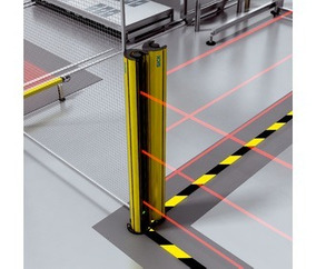 Barreira De Luz De Segurança Multifeixes Sick M4000 Standard