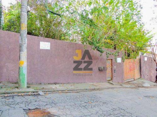 Imagem 1 de 2 de Terreno Com Estudo Para 32 Apartamentos À Venda, 849 M² Por R$ 950.000 - Vila Paulistana - São Paulo/sp - Te3614