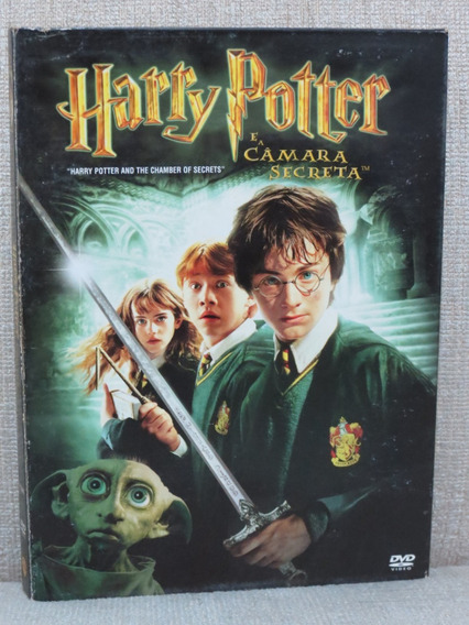 Dvd Duplo Harry Potter E A Câmara Secreta Original