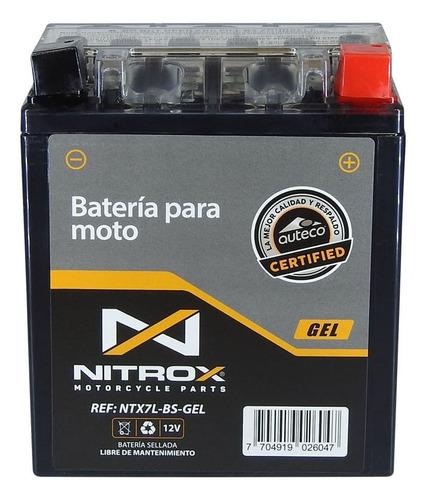 Imagen 1 de 2 de Batería Nitrox Gel  Moto Cbr 250