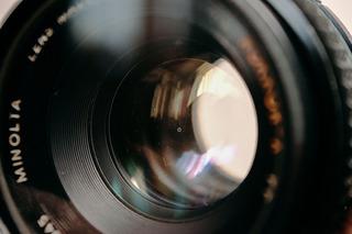 Lente Minolta Rokkor-x 50mm F.1.7 Adaptado Para Nikon