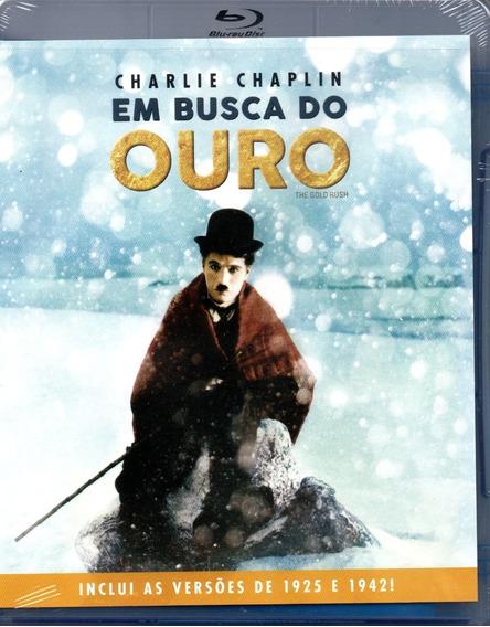 Blu-ray Em Busca Do Ouro - Classicline - Bonellihq M20