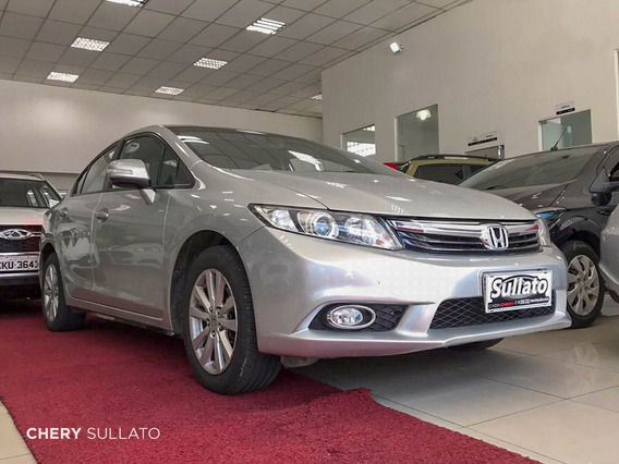 Honda Civic Lxr 2014 *financiamos Com Score Baixo*