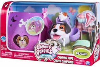 Set De Campamento Chubby Puppies Kreker Juguete Perritos