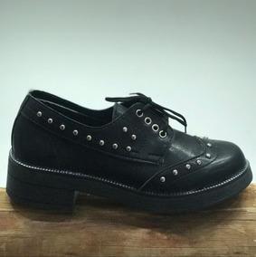 d94acae4a77 Zapatos Con Cordones De Mujer - Ropa y Accesorios en Mercado Libre ...