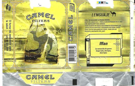 * Marquilla Papel Camel Lenguaje Iffan