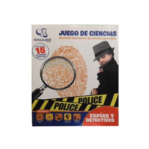 Galileo Juego De Espías Y Detectives Jc-007