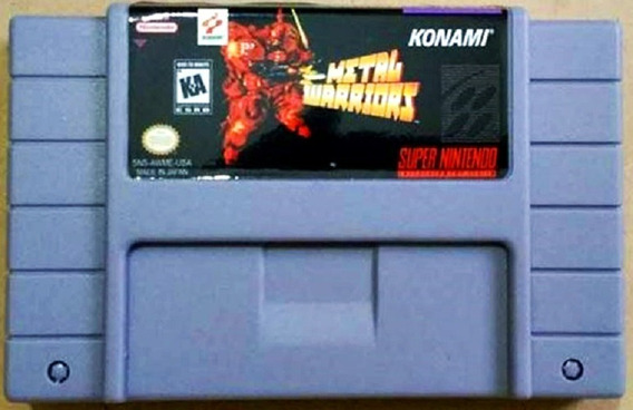 Jogo Metal Warriors Super Nintendo Snes Cartucho Plataforma