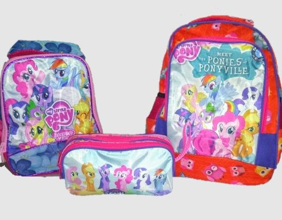 Combo Mochila Little Pony Kinder