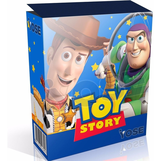 Kit Imprimible Toy Story + Candy Bar + Envío Inmediato!!!