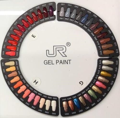 Imagen 1 de 4 de 12 Gel Paint Jr 5ml Para Mano Alzada Uñas Lampara Uv 8a-97