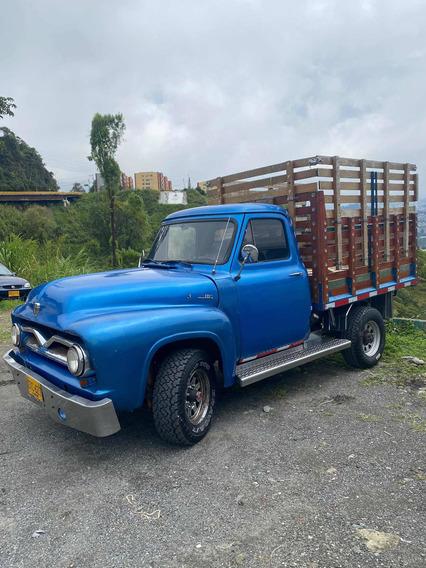 Ford 100 1955 Estacas
