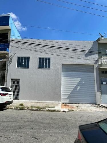 Imagem 1 de 19 de Salão Para Alugar, 420 M² Por R$ 7.200,00/mês - Jardim Cidade Pirituba - São Paulo/sp - Sl0218
