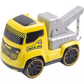 Brinquedo Infantil Carrinho Truck Guincho Amarelo Bs Toys