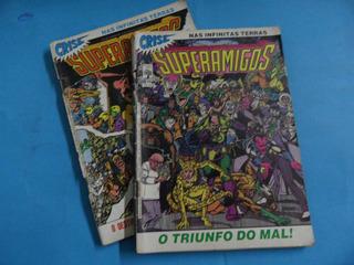 Hq Crise Nas Infinitas Terras Superamigos N° 24-26 Gibi Dc
