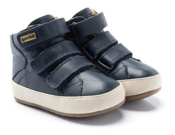 Bota Gambo Baby Navy Off White