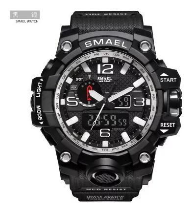 Relógio Masc Smael 1545 À Prova Dágua Analógico/digital
