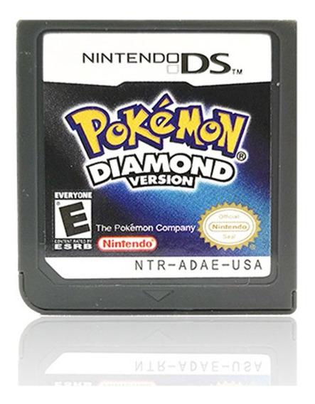 Cartão De Jogo Pokemon Platinum Versão Para Ds 2/3ds Ndsi Nd