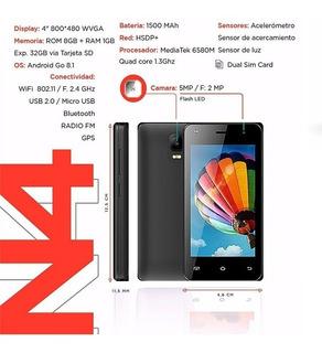 Telefono Celular Inteligente Win N4 1+8gb 3g Liberado 60 Vrd