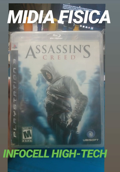 Jogo Assassin`s Creed Playstation 3 - Ps3 Midia Fisica