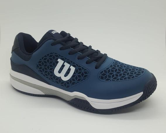 Zapatillas Tenis Wilson Match Hombre Blue/navy(l1m3b)