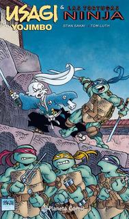 Usagi Yojimbo Y Las Tortugas Ninja - Satan Sakai - Planeta