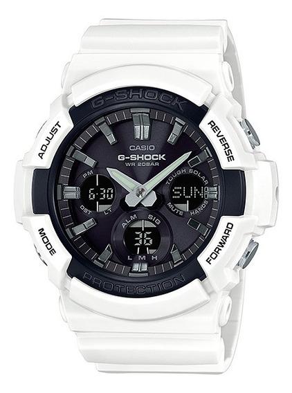 Reloj Casio G-shock Modelo Gas-100 Blanco